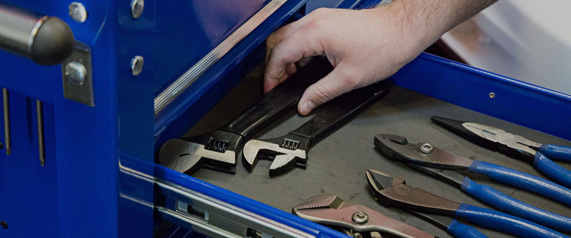 shop hand tools including wrenches, pliers, sockets, ratchets and more